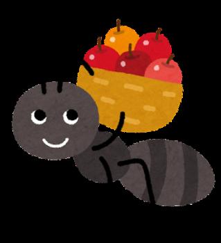 蟻・アリの夢 - 夢占い辞典 - 毎日無料の夢診断アプリ